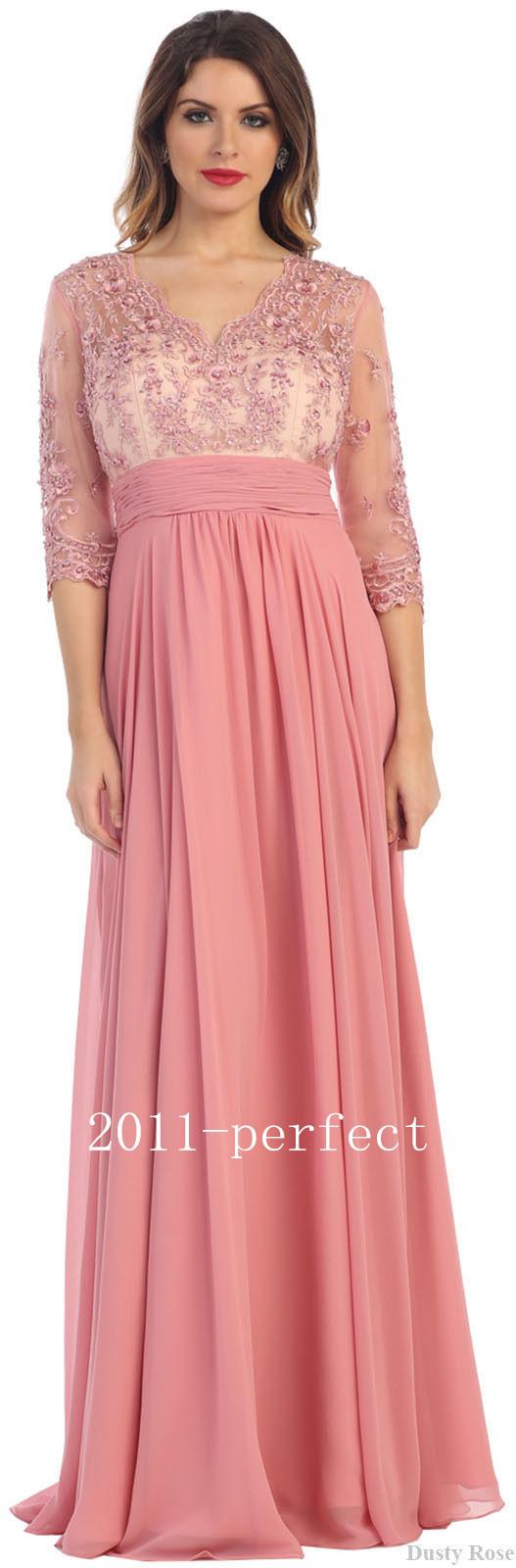Moderno Vestidos De Madre De La Novia Festooning - Colección del ...