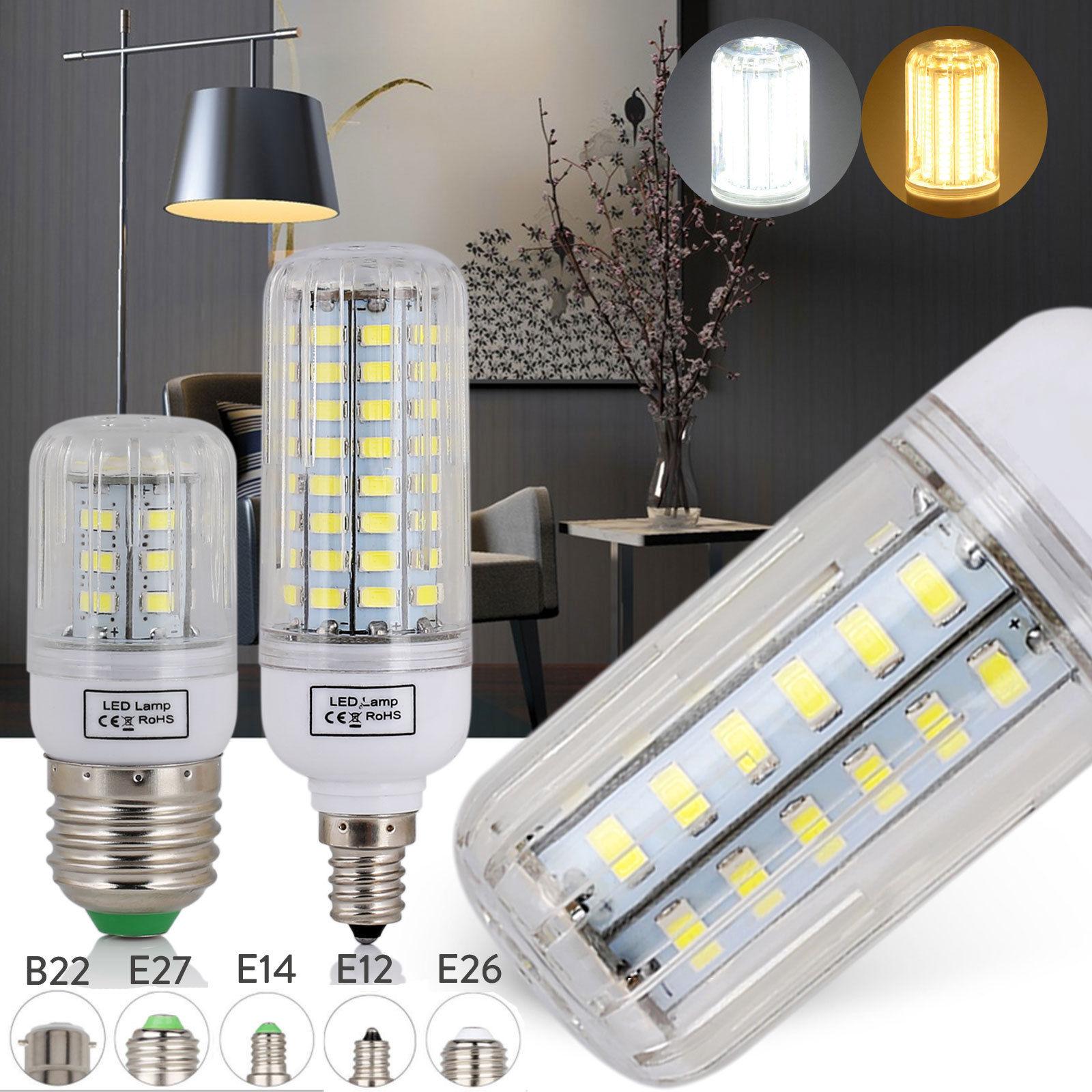 Light Bulbs Ultra Bright 5730 SMD LED Corn Bulb Lamp Cool