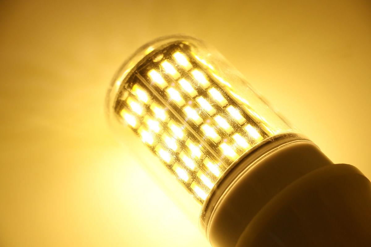 90W Equivalent Light Lamp SS217 LED Corn Bulb E12 E26 E14 E27 B22 7030 SMD 40W