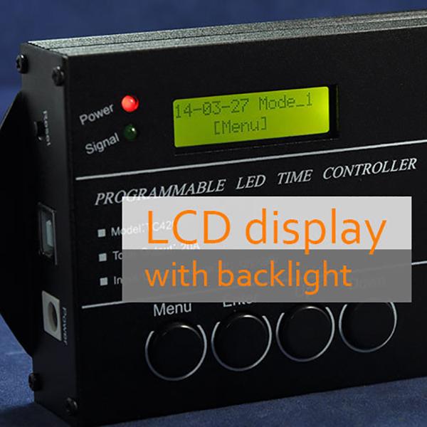 Time Programmable TC420 RGB LED Controller DC12V-24V 5Channel LED Dimmer RK569