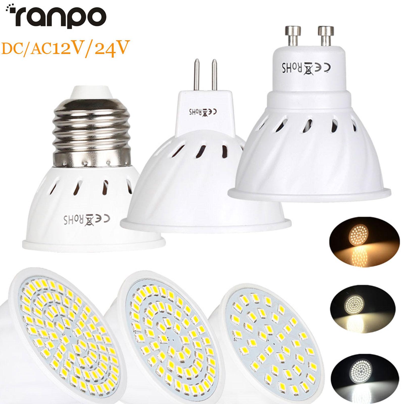 AC110V LED Bulb Light Spotlight 4W 6W 8W MR16 GU10 E27 2835 SMD Decor Lamp
