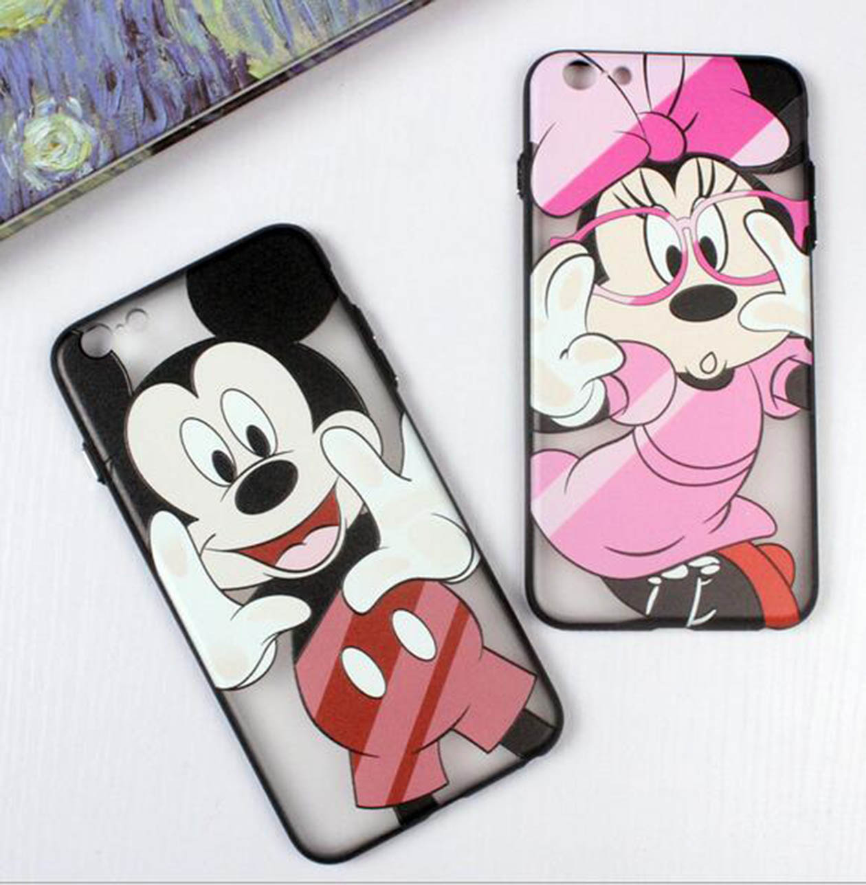 coque iphone 8 disney minnie
