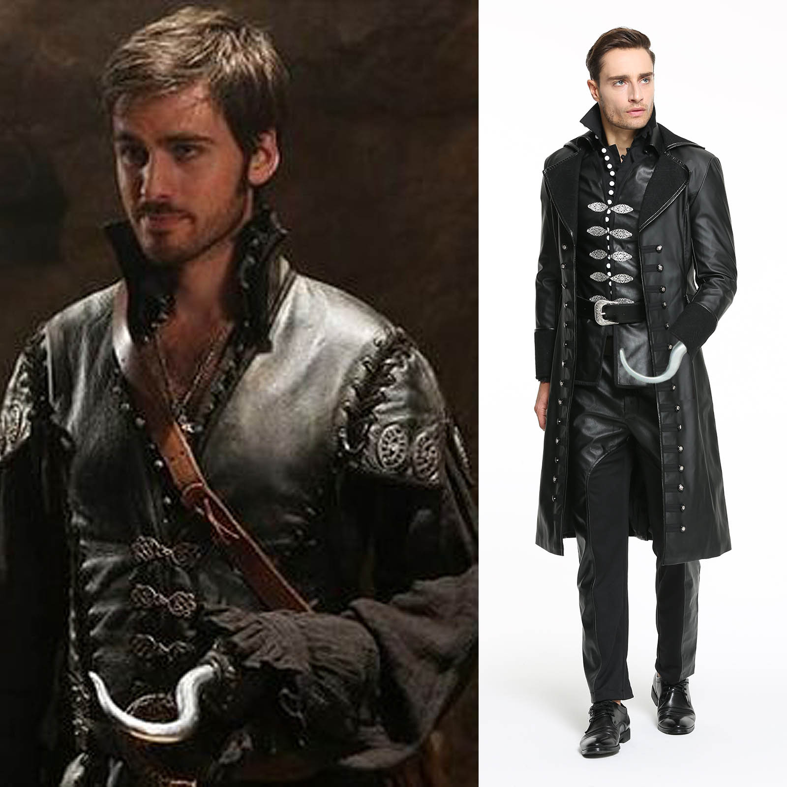 Once Upon A Time Costumes: Once Upon A Time Cosplay Captain Hook Killian Jones Pirate