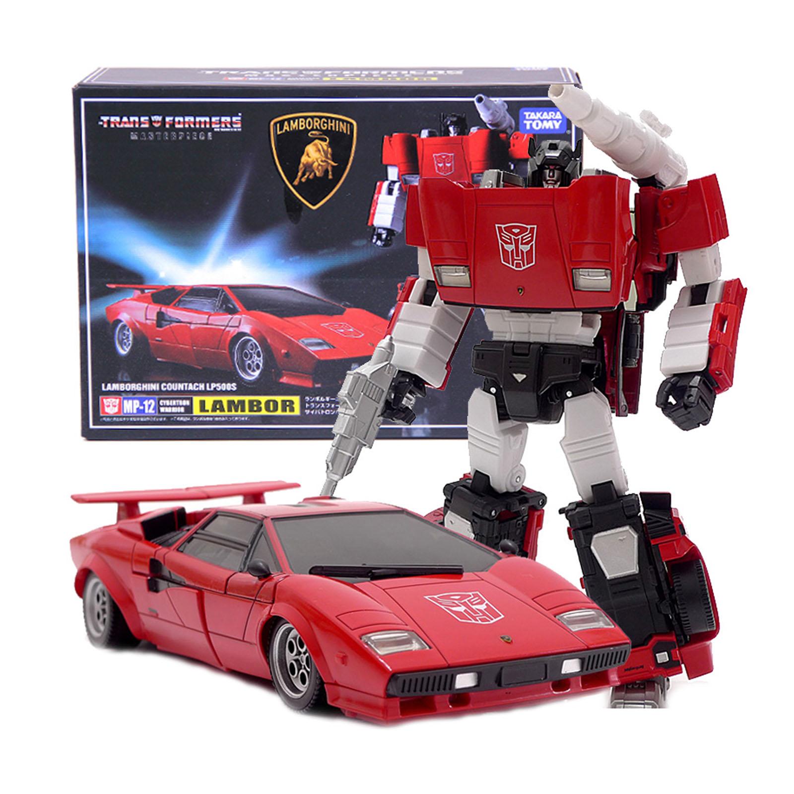 Transformers Lambor Takara MP-12 MP12 KO Lamborghini LP500S Action Figure Toys