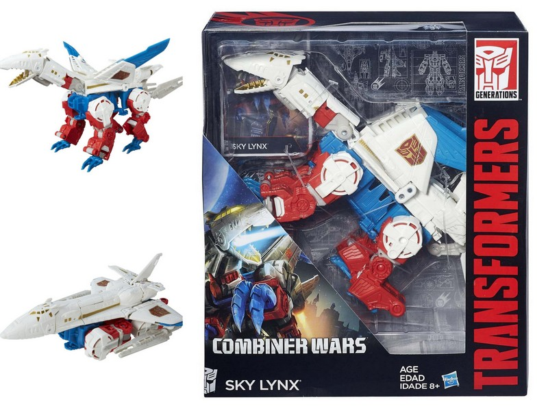 Transformers Generations Combiner Wars IDW V-Class SKY LYNX Christmas Toy Gift