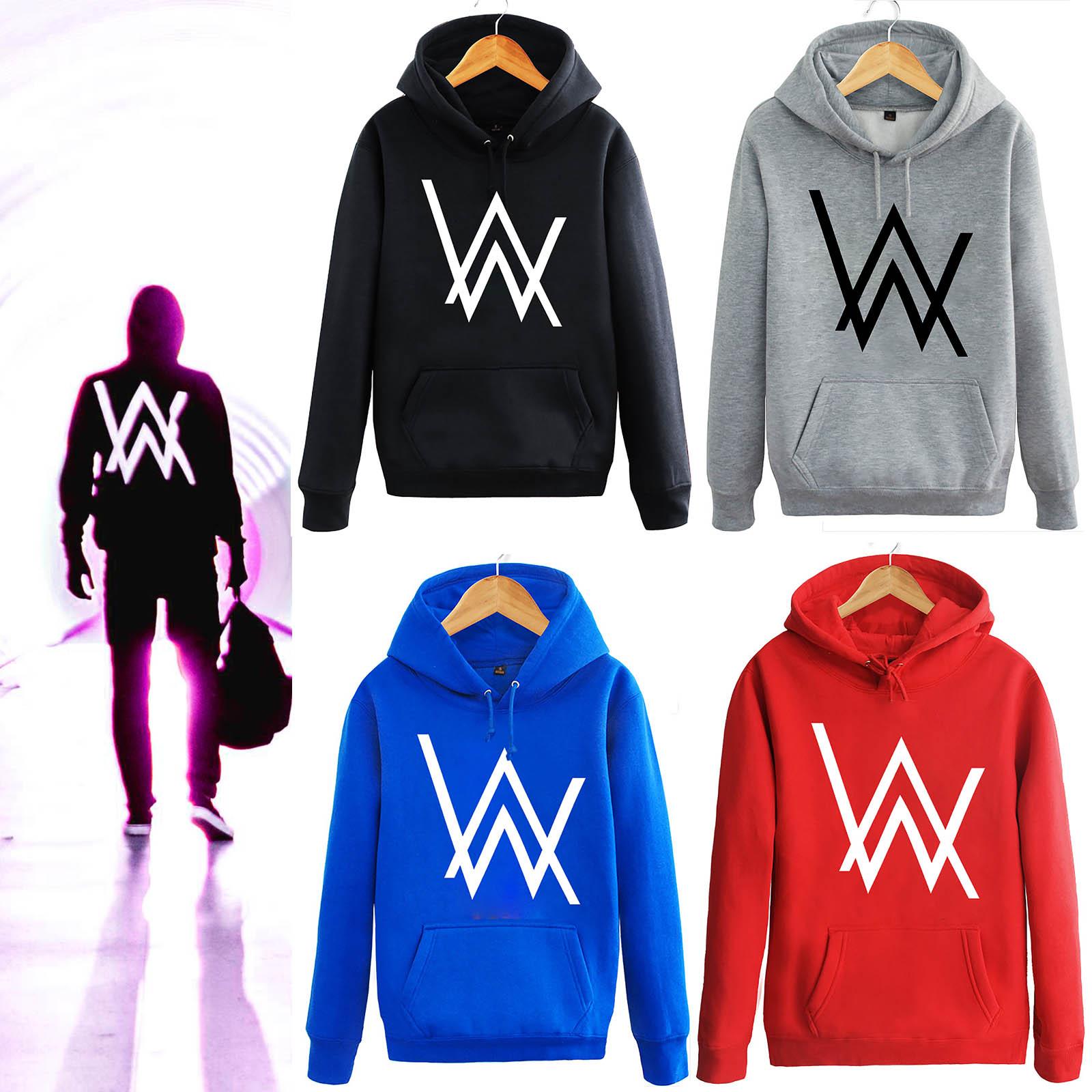 ... Alan Walker Music DJ Sweater Hoodie Hoody Zip Jacket Fleece Unisex S 3XL