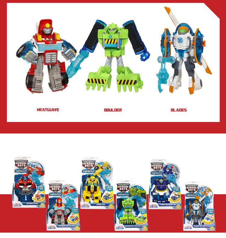 Transformers playskool heroes rescue bots boulder the
