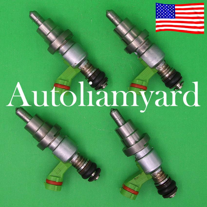 OEM 4x Fuel Injector 23250-28070 23209-28070 For Toyota Rav4 1AZ-FSE 2.0L Engine