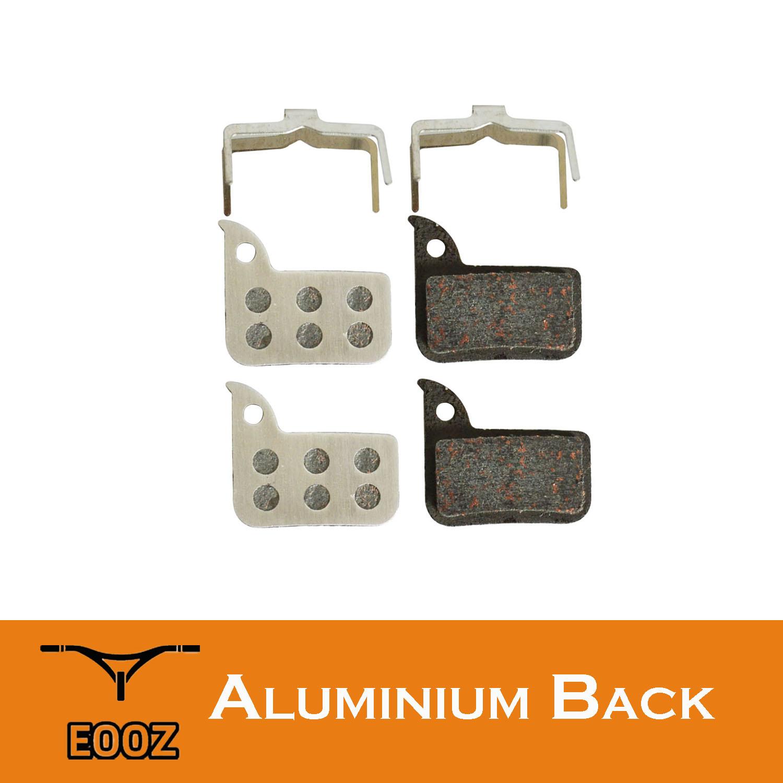 4PRS Bicycle Semi-metallic Brake Pads Aluminum Alloy Back For SRAM HRD Red Rival