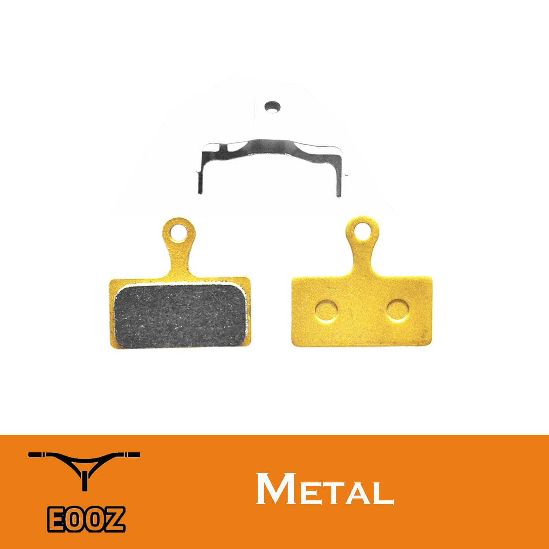 2 Pairs Metal bicycle DISC BRAKE PADS FOR SHIMANO XTR M9000 XT M8000 SLX M7000