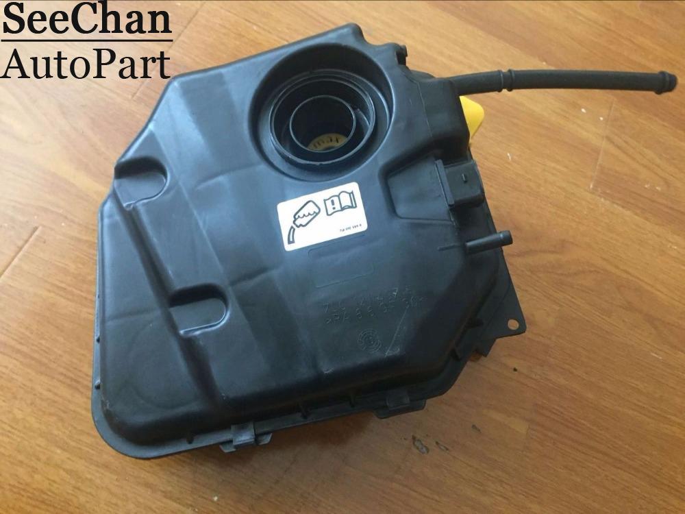 Porsche Cayenne 955 03-11 Engine Radiator Coolant Reservoir Overflow 7L0121407F
