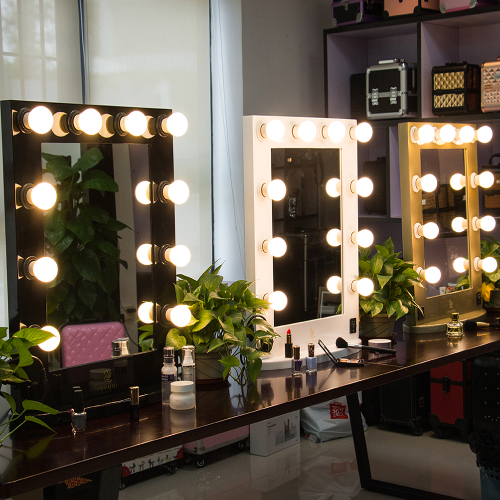 Vanity Mirror Light Hollywood Makeup Wall Mounted Lighted Us Stock