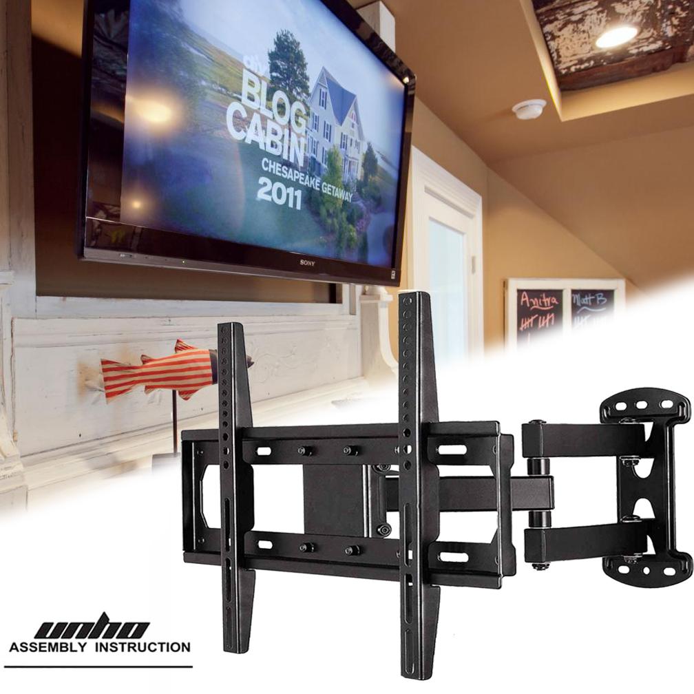 Full Motion Articulating Tv Wall Mount Bracket 32 55 Inch Tilt
