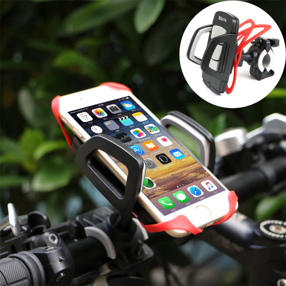Motorcycle Bicycle MTB Bike Handlebar Mount Holder Universal For Cell Phone NEW