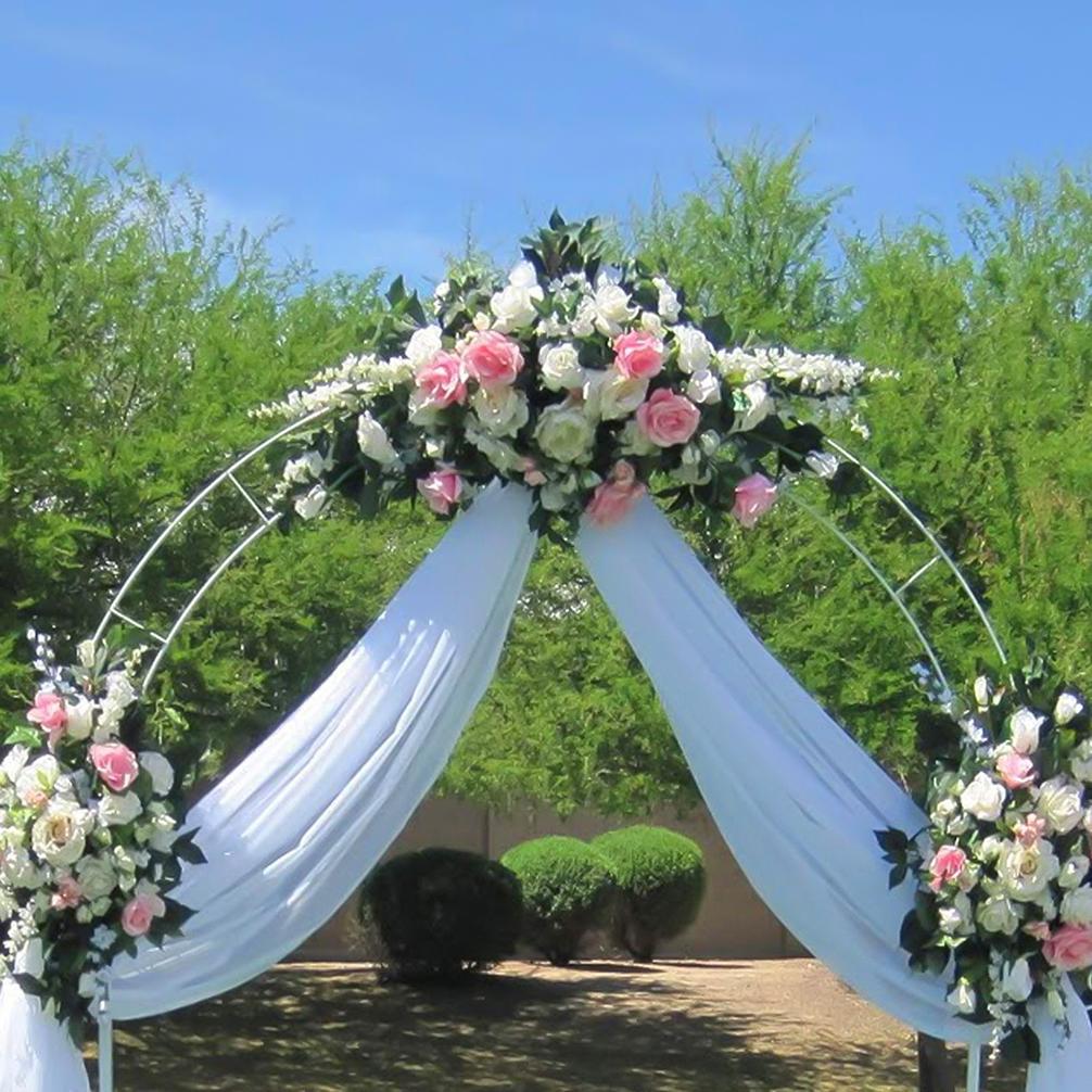 Decorative metal wedding arch 1 pc 95 x 55 party wedding decorative metal wedding arch 1 pc 95 x 55 party wedding decorations sale junglespirit Gallery