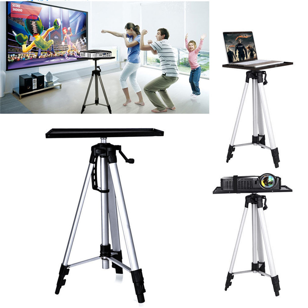 Adjustable Laptop Stand//Multifunctional Stand//Computer Stand//Height Adjustable 43-115CM,Black Aluminum Tripod ZXGHS Projector Tripod
