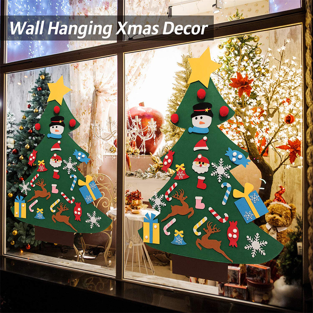 Details About Diy Christmas Tree For Toddlers Preschool Children Xmas Gifts Window Decor