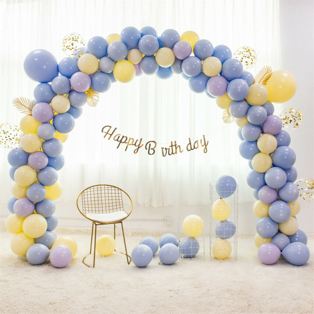 5M Balloon Arch Frame Kit Column Water Base Stand For Wedding Birthday Party