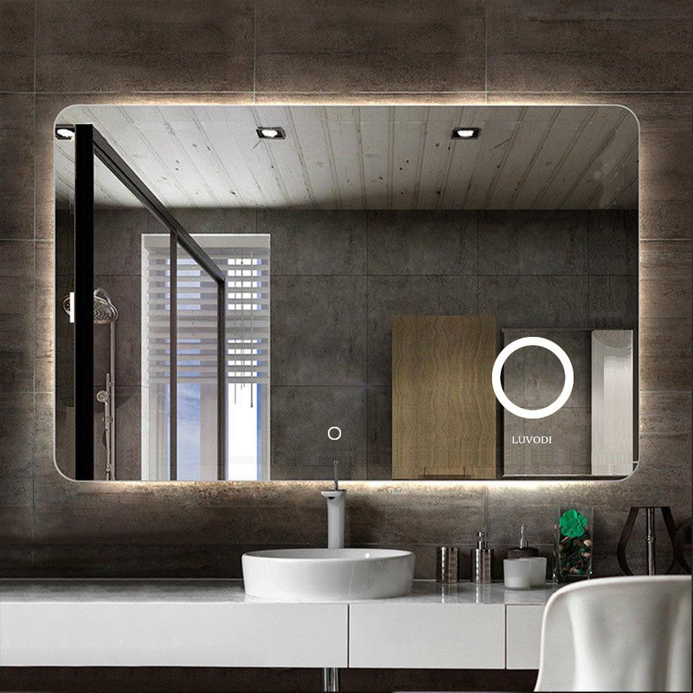 Large Backlit Led Illuminated Modern