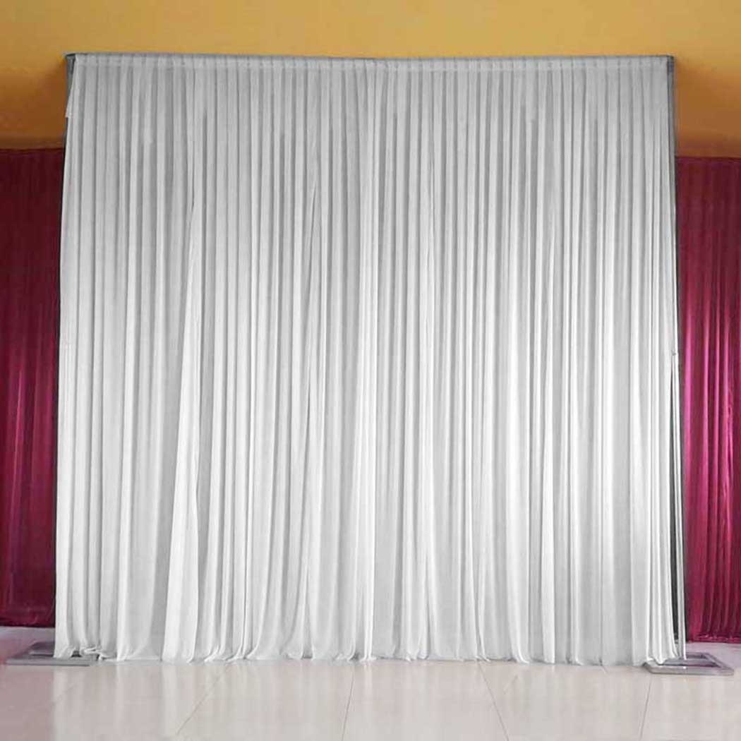 sq 7ft 10ft white backdrop curtain