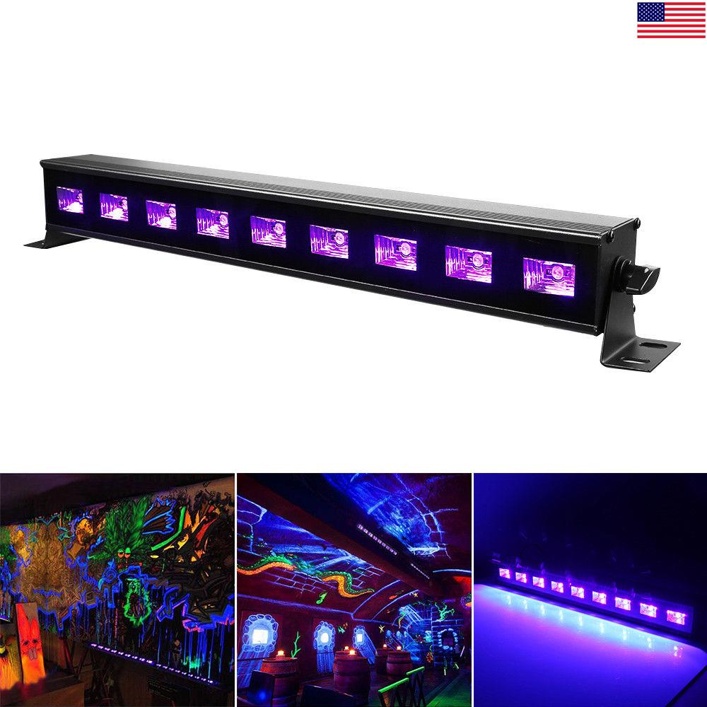 27w stage light bar uv led bar blacklight party club halloween decor 110 220v us 7625731159228. Black Bedroom Furniture Sets. Home Design Ideas