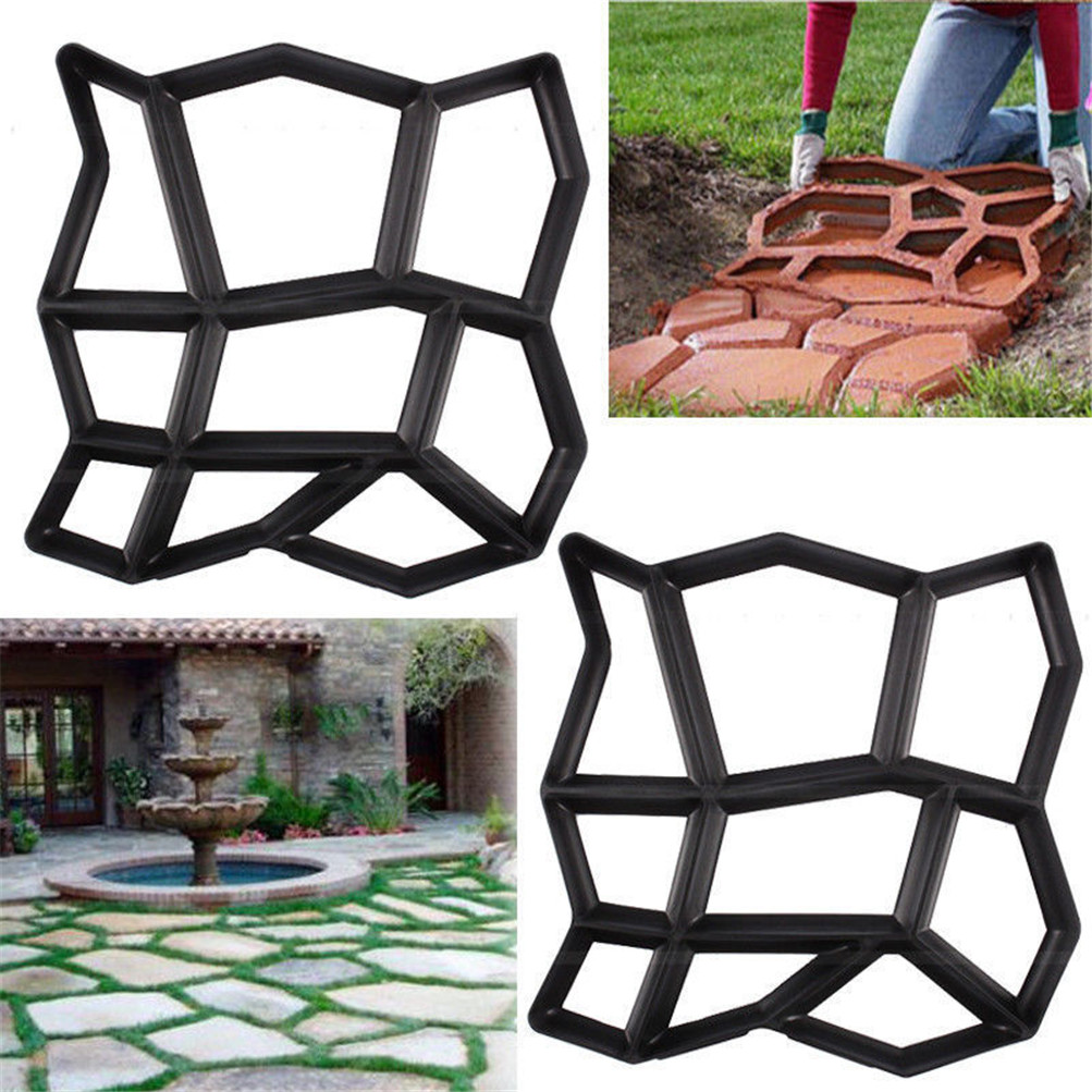 Building Paths Mold Country Stone Concrete Pattern Walk