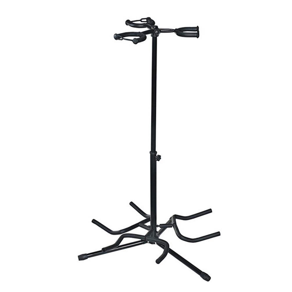 multiple 3 guitar stand tripod adjustable for acoustic classic electric guitar 7625728405406 ebay. Black Bedroom Furniture Sets. Home Design Ideas