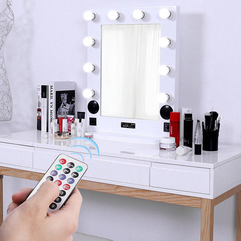 Luvodi Hollywood Vanity Makeup Mirrors Carry Led Lights