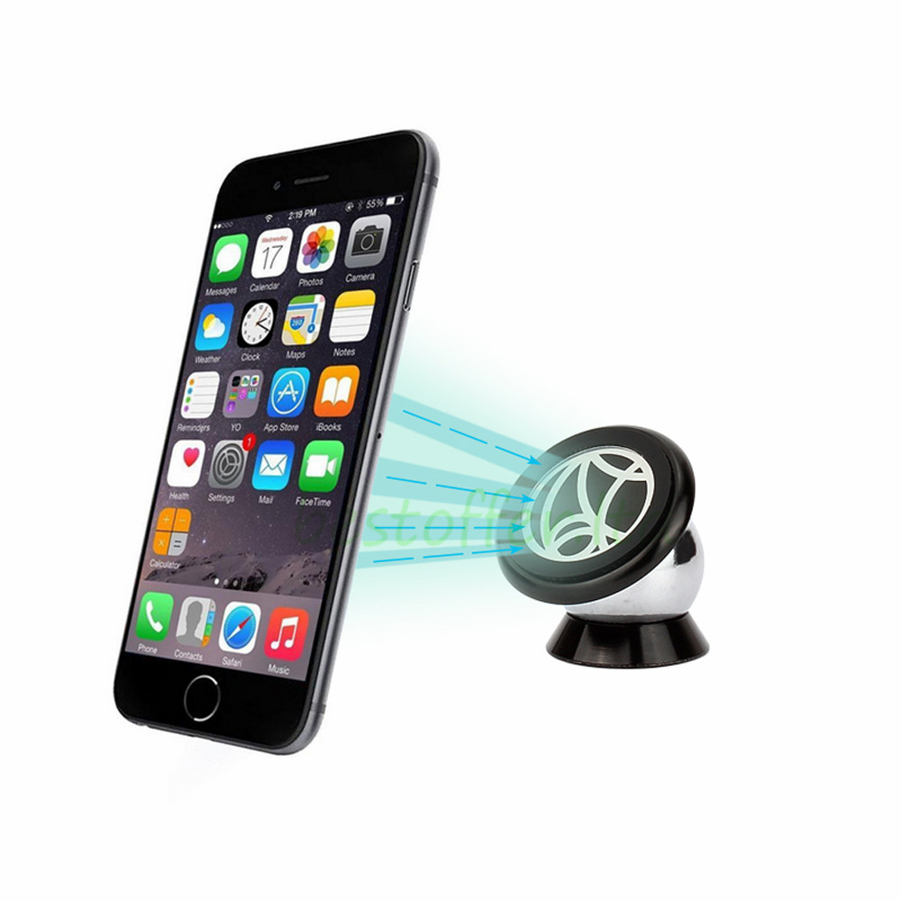 magnetic iphone car mount universal mobile cell phone gps car magnetic dash mount 15661