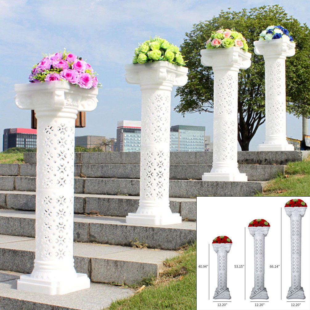 Wedding Flower Pillars: Updated Roman Column Pedestal Pillars Venetian Wedding