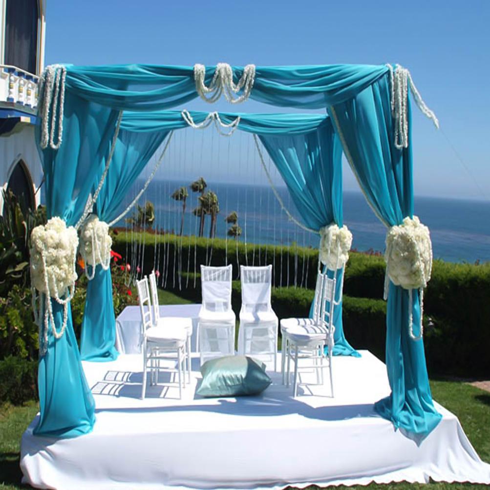 Wedding Chuppahs For Sale: 10X10FT 4Post Height Adjustable Canopy Chuppah Mandap