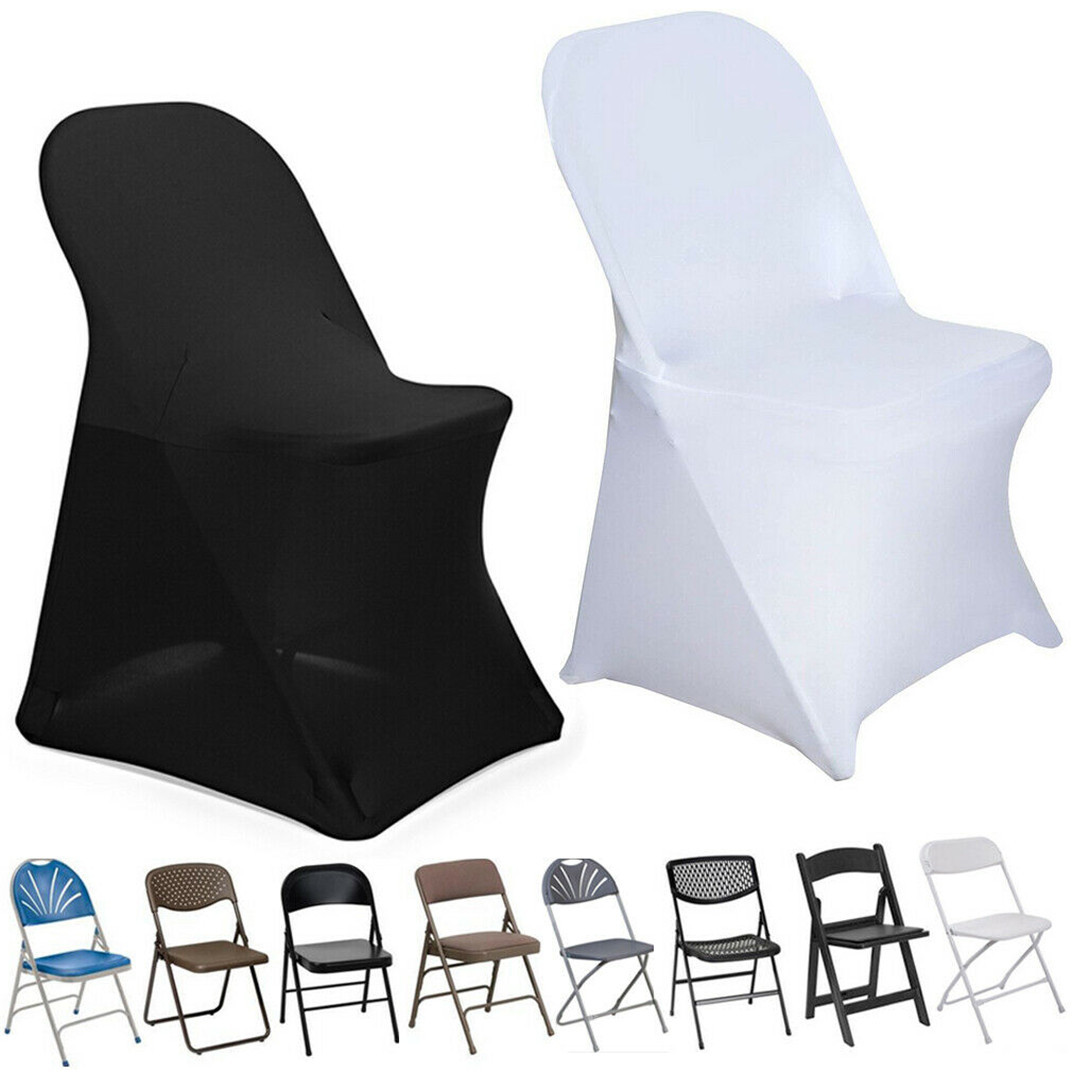 100PCS Stretch Banquet Chair Covers Wedding Party Event Wholesale Reception New