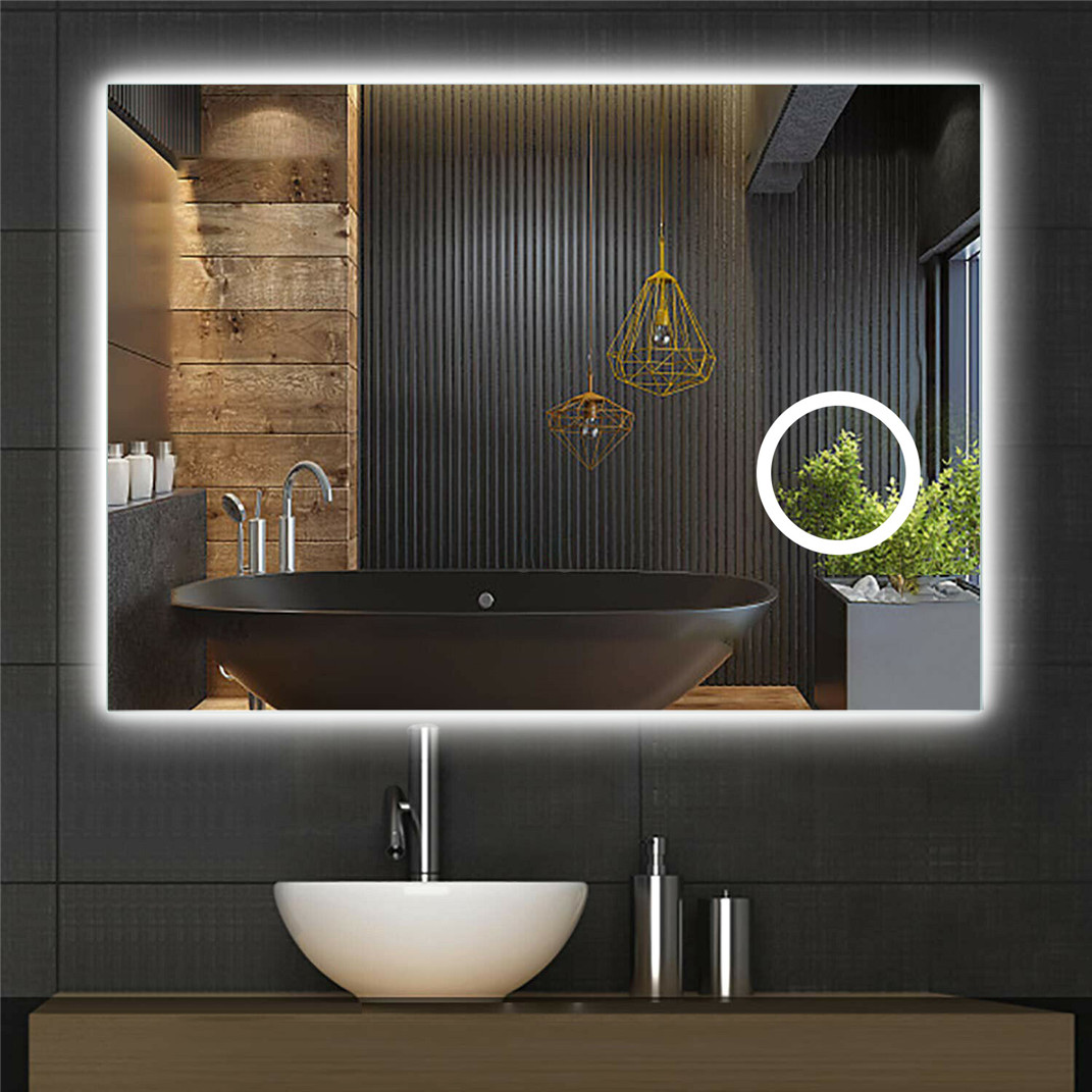 Large Wall Mounted Vanity Mirror
