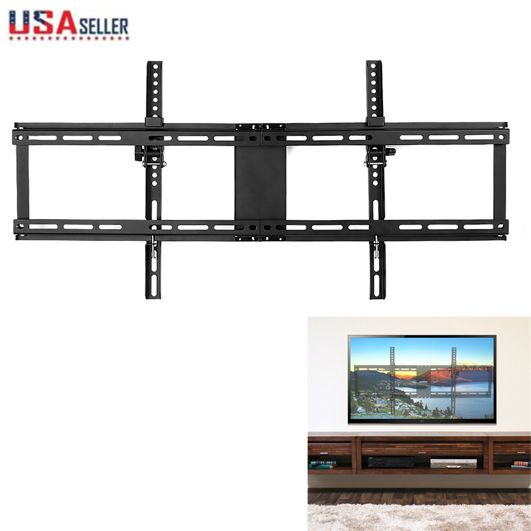 "TV Wall Mount Bracket Flat Fixed For 26/""-72/"" LED LCD HD TV Max VESA 600*400"