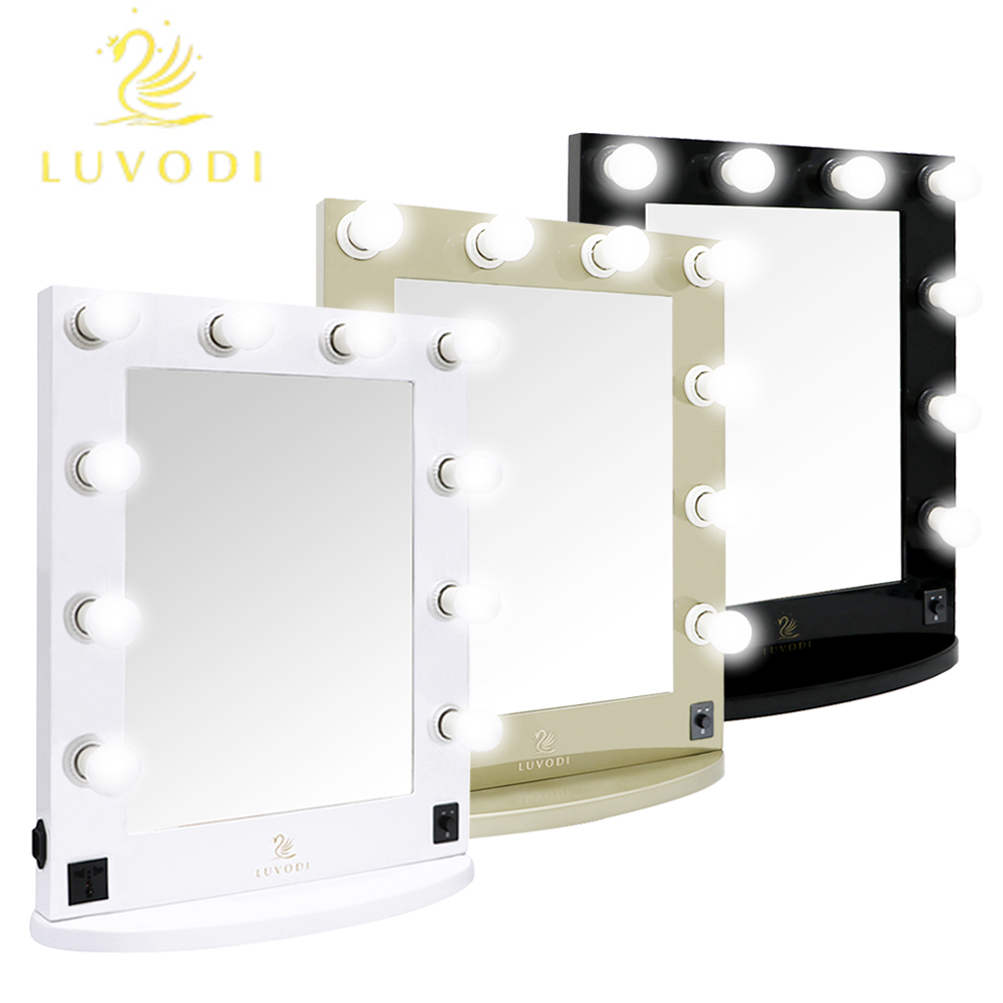 Vanity mirror light hollywood makeup mirror wall mounted lighted vanity mirror light hollywood makeup mirror wall mounted lighted mirror us stock amipublicfo Images