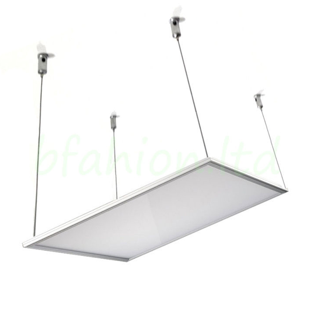 Led Flat Panel Light Kit Suspension Fixture Systems Cables Hanging