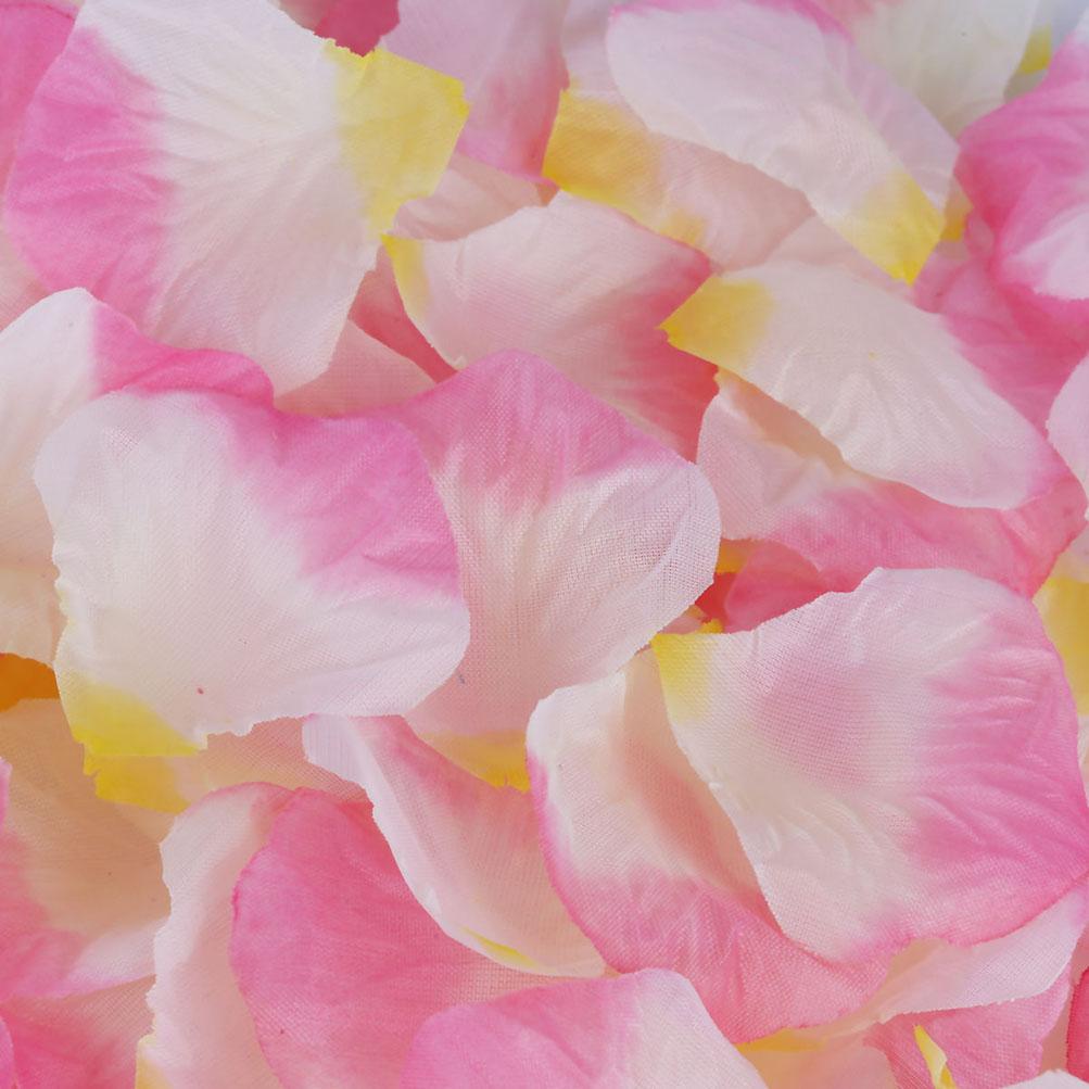 1000 5000 Silk Rose Petals Wedding Party Decor Flower Vase Table ...