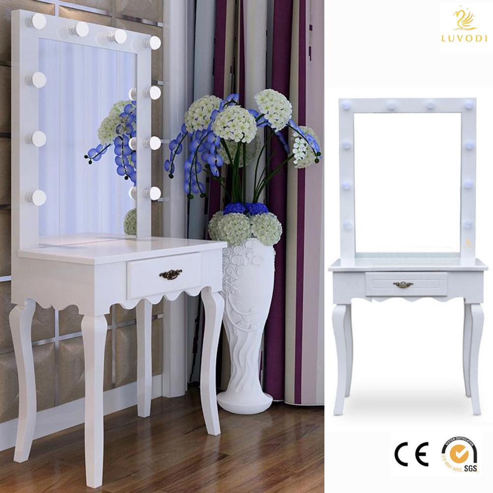 Vanity Makeup Table W 35 Long Length Mirror Light Salon Cosmetic Dressing Desk