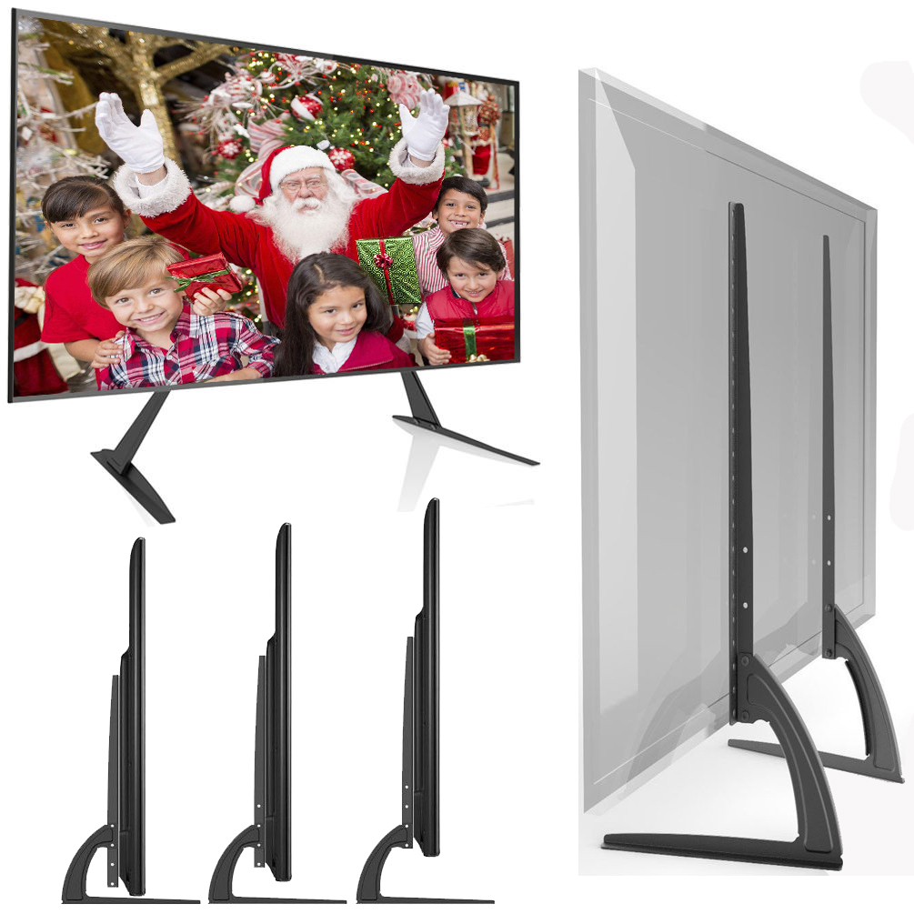 Universal Tv Stand Table Top For Most 17 55 Lcd Flat Screen Tv Easy