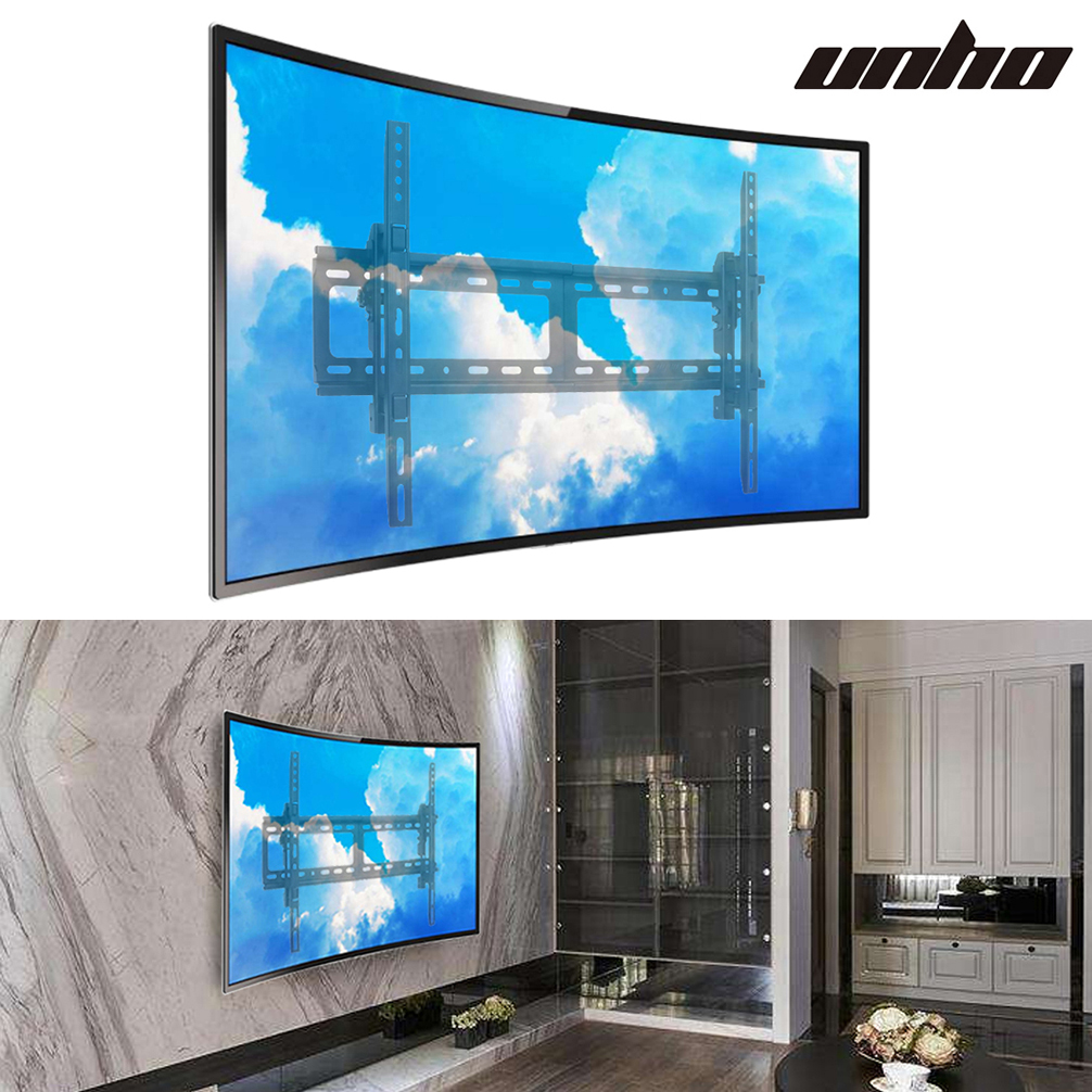 Full Motion Swivel Curved Tv Stand Wall Mount Bracket For Samsung Uhd 32 75 Inch Ebay