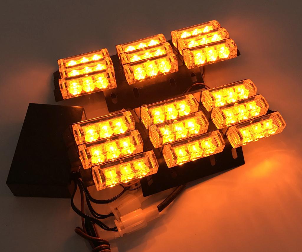 auto lkw 54 led dash stroboskop flashlight blitzer licht. Black Bedroom Furniture Sets. Home Design Ideas
