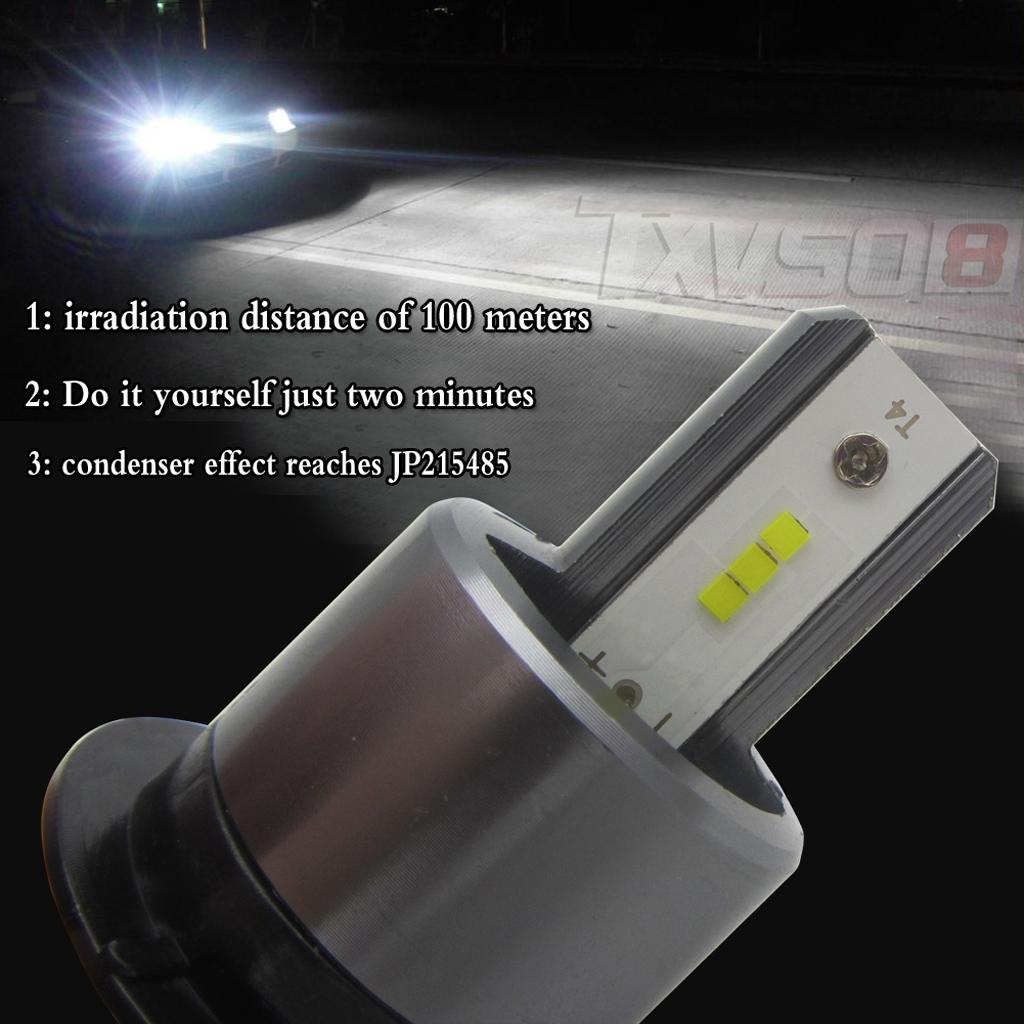 h7 26000lm 110w led headlight conversion kit high low beam. Black Bedroom Furniture Sets. Home Design Ideas
