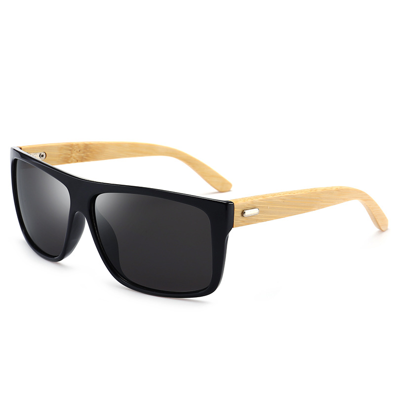 New Vintage Retro Men Sunglasses Bamboo Wooden Wood Frame Shades ...