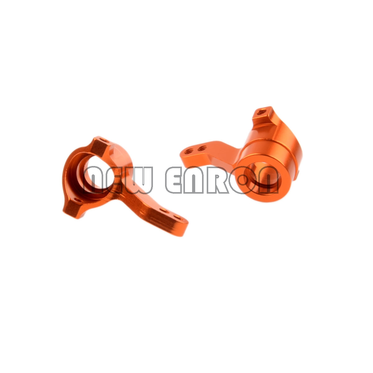 2pcs BMT0001//3 Steering Hub Carrier Rear Hub Carrier for1:10 HPI Truck Orange