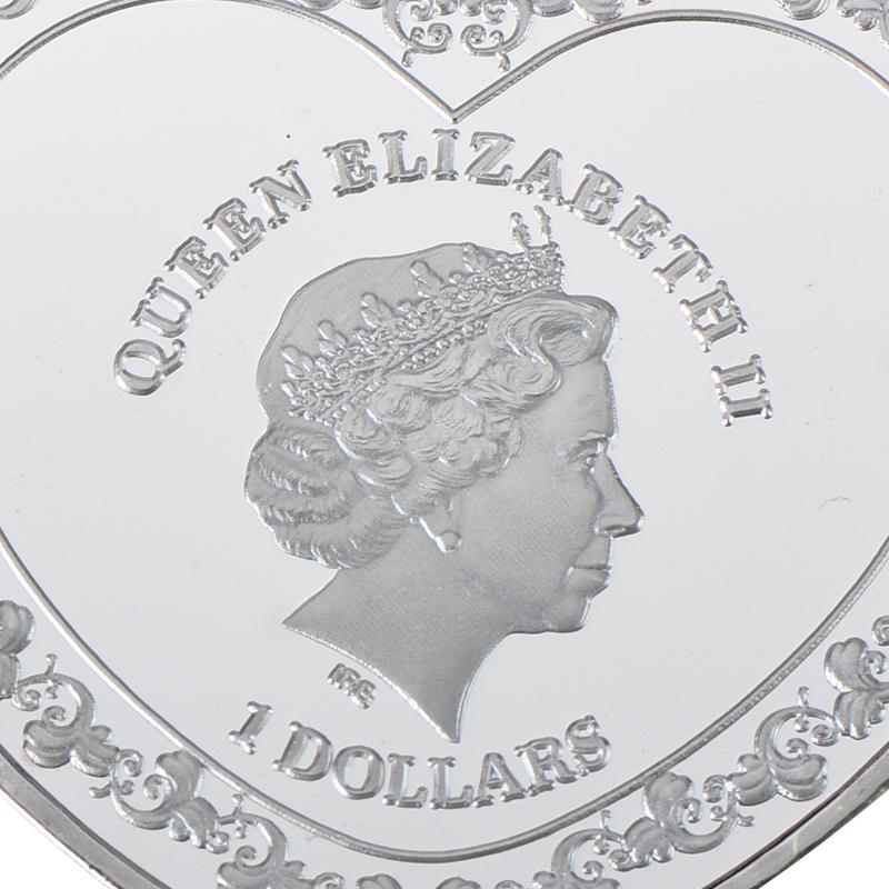 Coin Commemorative Souvenir Collection Eagle Galloping Horse Collection Arts Gif