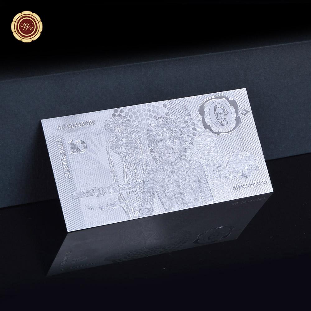 wr 3x 1988 australia  10 bicentennial polymer note 24k
