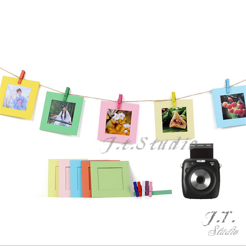 Creative Wall Decor Hanging Square Film Frame for Fujifilm Instax ...