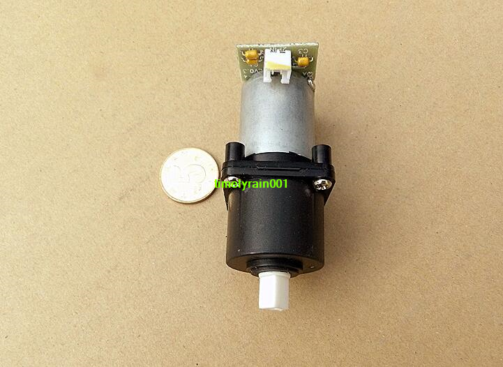 1PCS DC3-12V 32rpm-136rpm Worm Speed Reduce Gear Motor Planetary Gear 370 Motor