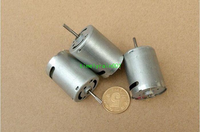 1pcs DC7.2V-12V 370 motor 24.4*30.7MM High speed and high torque motor 45500rpm