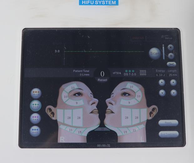 Details about 5 Cartridges Hifu Machine High Intensity Focused Ultrasound  SPA salon skin care